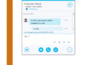 Enabling Collaborative Working - Skype for Business