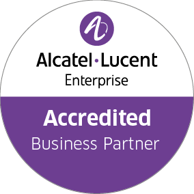Logo for Alcatel Accredited Business Partner